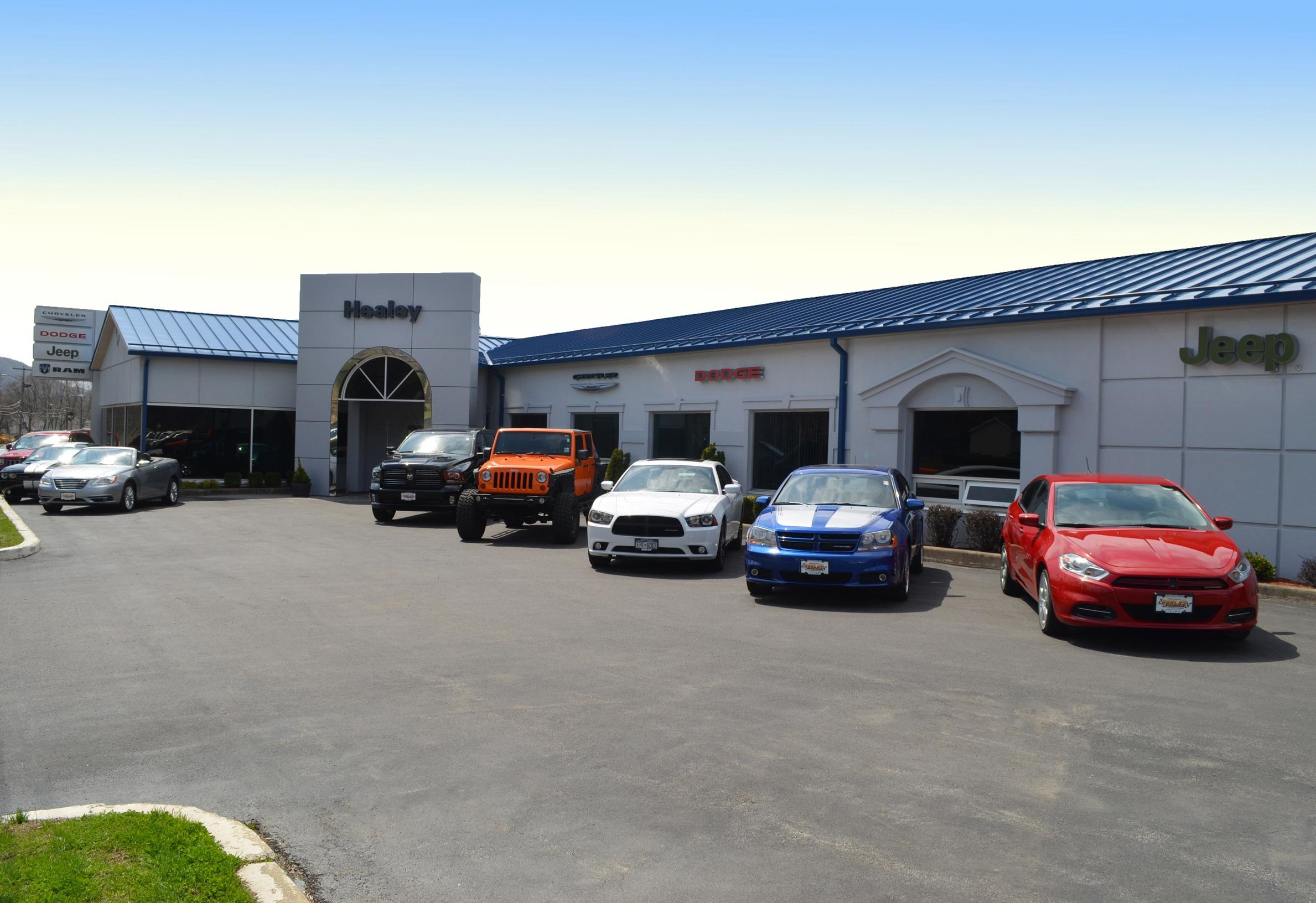 Healey Chrysler Dodge Jeep Ram At 557 Route 52 Beacon