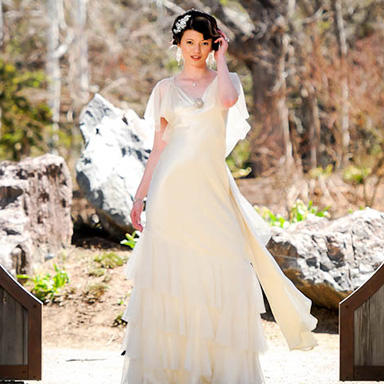 One of our gorgeous brides! The Wedding Seamstress Arvada (720)435-1004