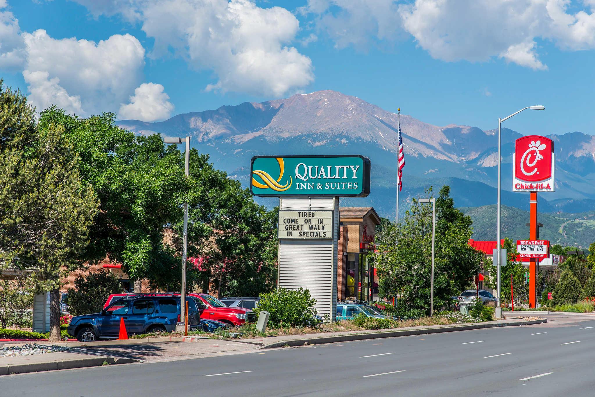 Quality Inn Suites Garden Of The Gods Colorado Springs Colorado Co