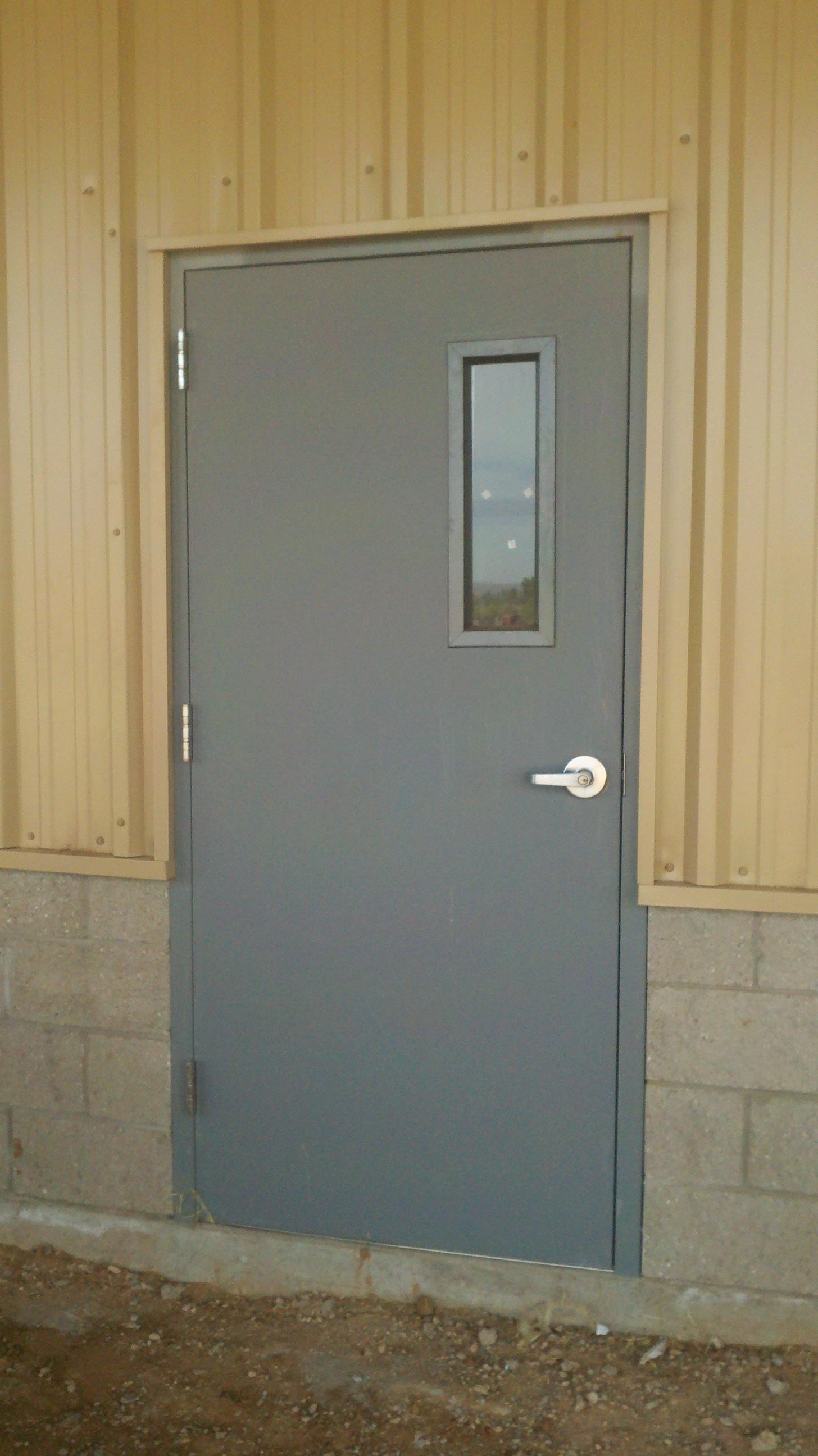 Preece overhead door