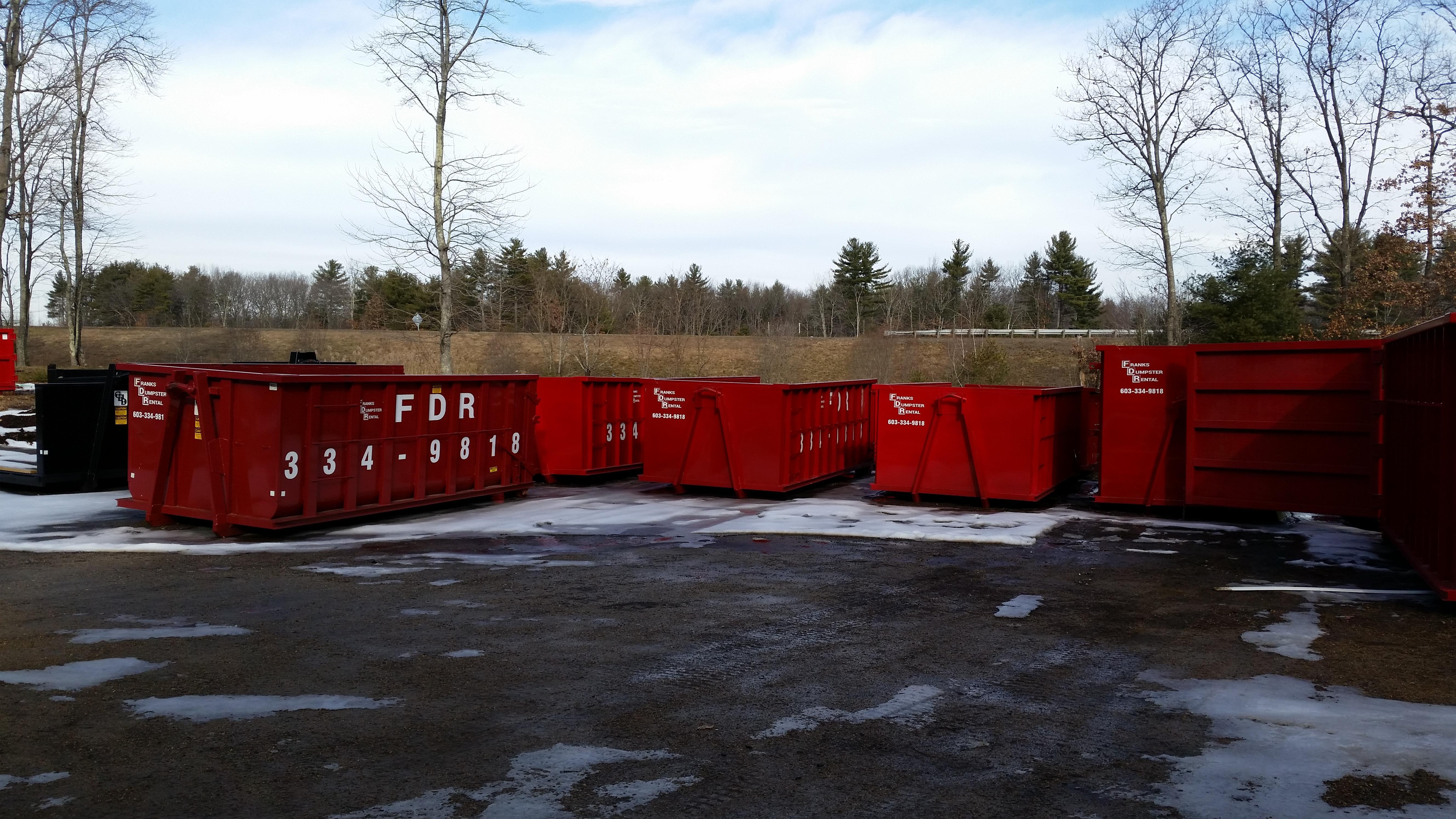 Franks Dumpster Rental In Greenland Nh 03840
