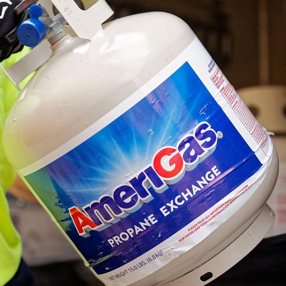 20 pound propane tanks are often referred to as grill cylinders and hold 4.6 gallons of propane when full.