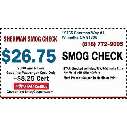 Sherman Smog Check
