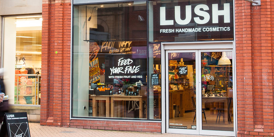 Preston shop front