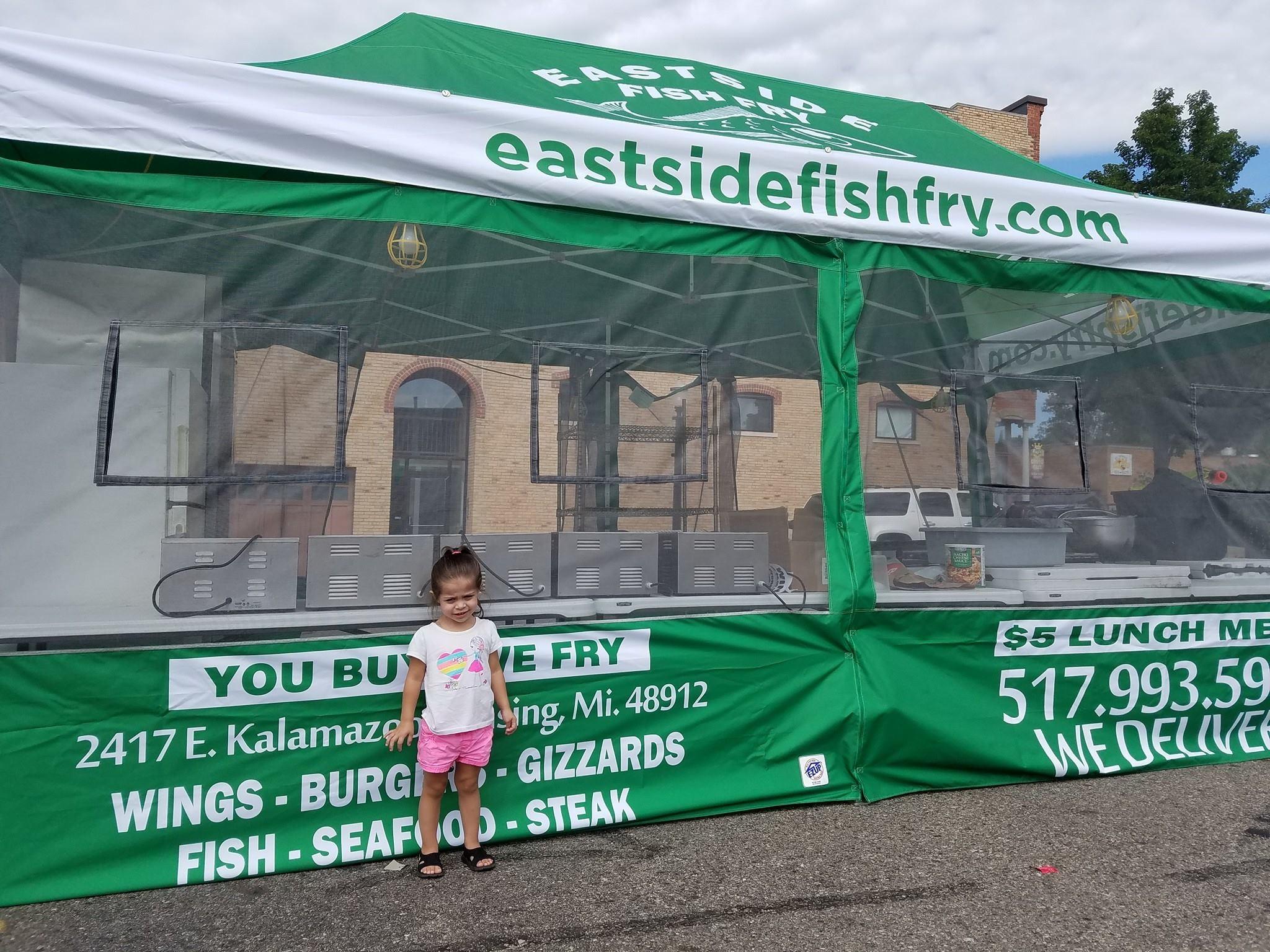 Eastside fish fry grill lansing michigan mi for Fish fry lansing