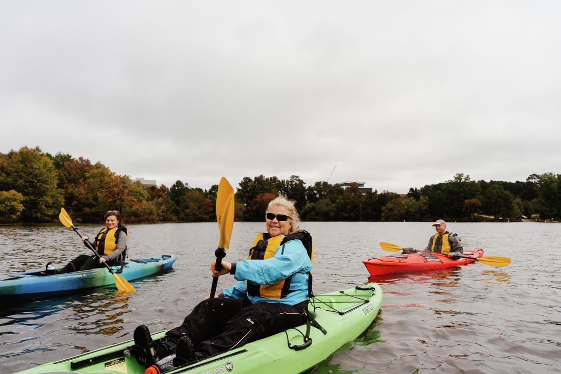 Sold Out - Sandhill Crane Kayak Tour at Hiwassee Wildlife Refuge
