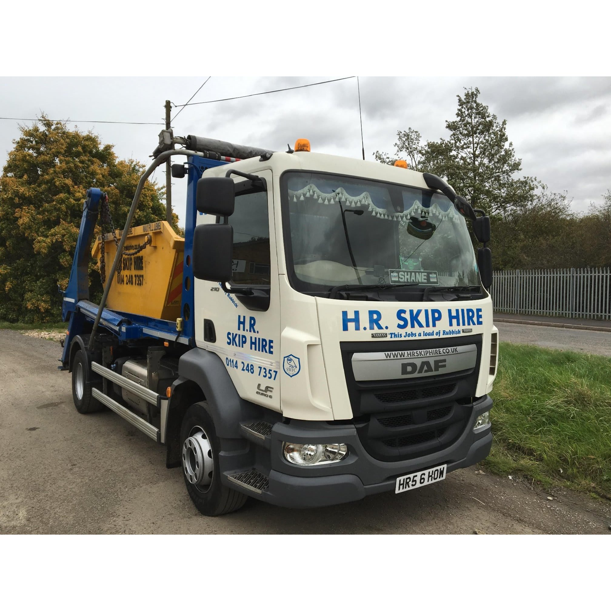 H.R Skip Hire - Sheffield, South Yorkshire S20 3GH - 01142 487357 | ShowMeLocal.com