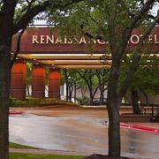Entrance to the Renaissance Austin Hotel at the Austin Arboretum