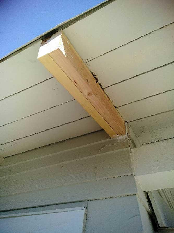 Termite Damage Structural Replacement