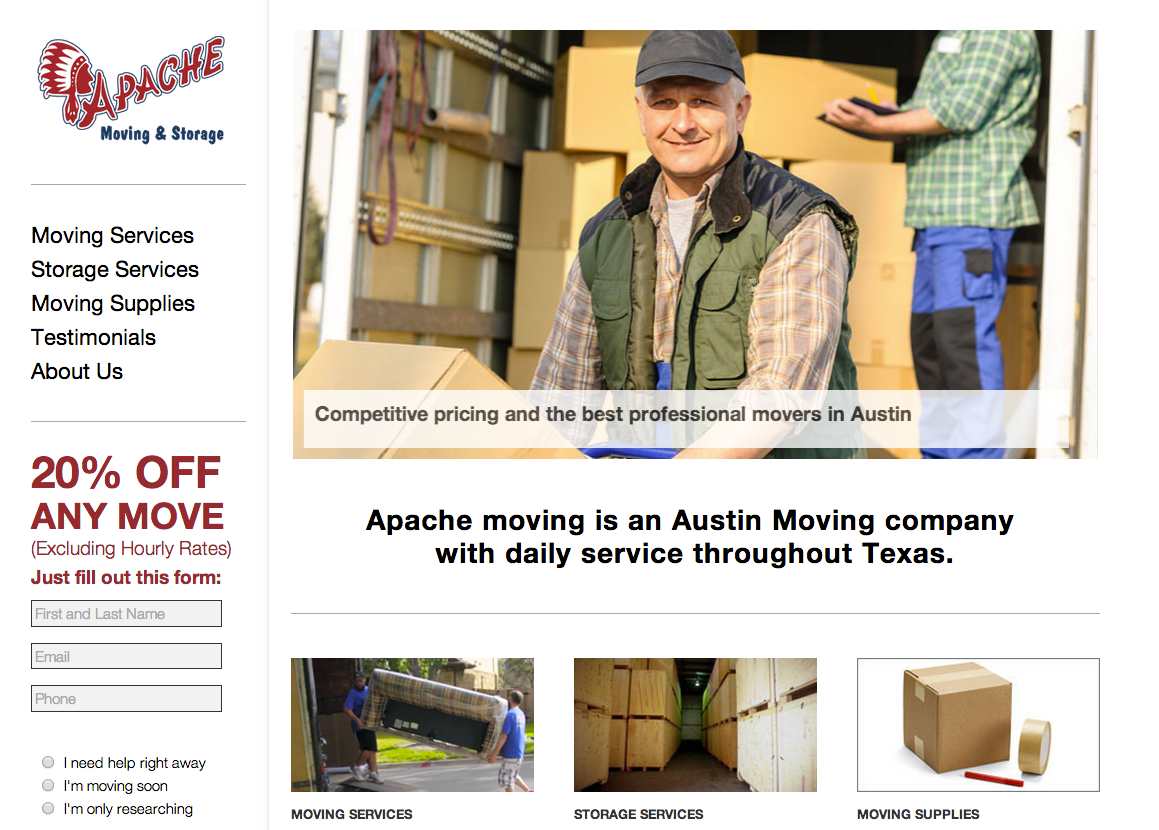 Apache Moving and Storage image 8