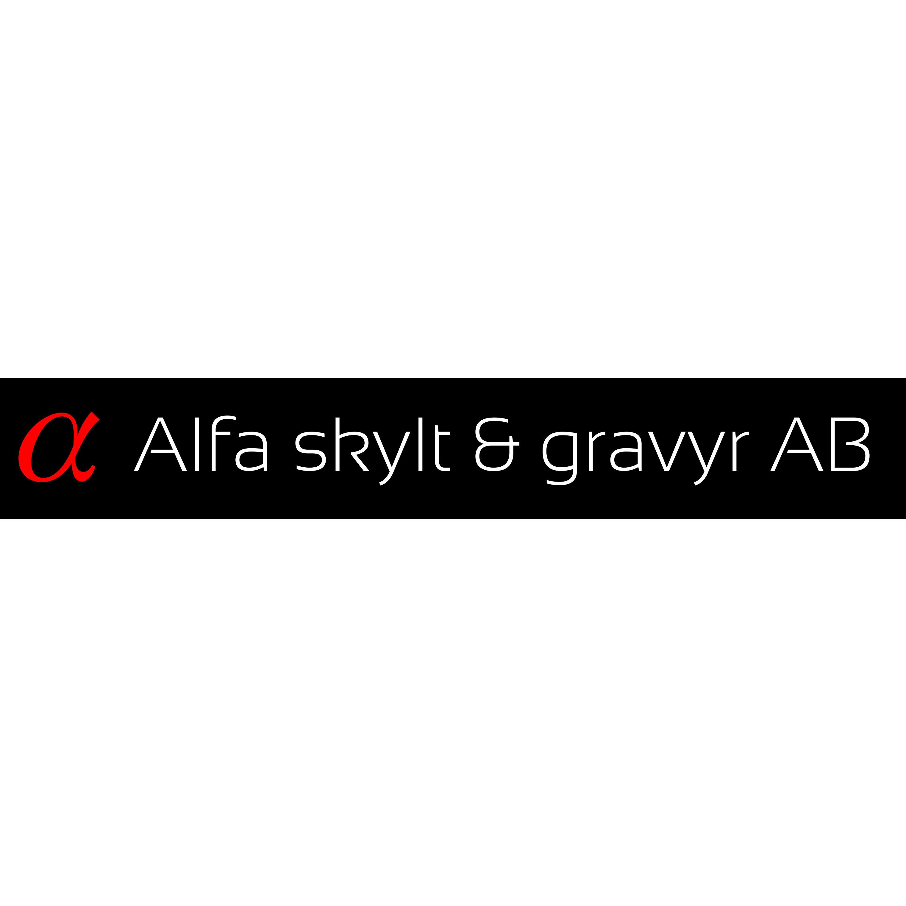 Alfa Skylt & Gravyr AB