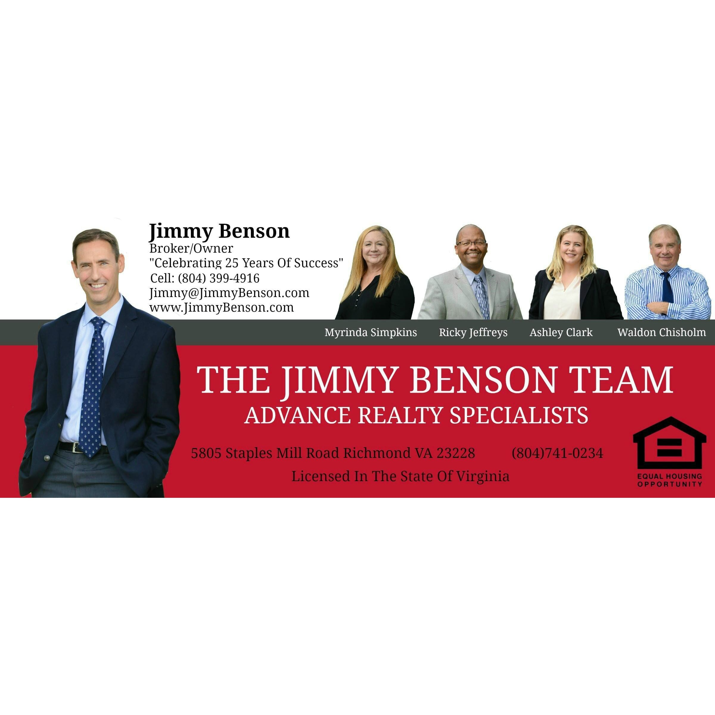 Jimmy Benson - Henrico, VA - Real Estate Agents