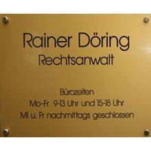 Bild zu Rechtsanwaltskanzlei Rainer Döring in Berlin