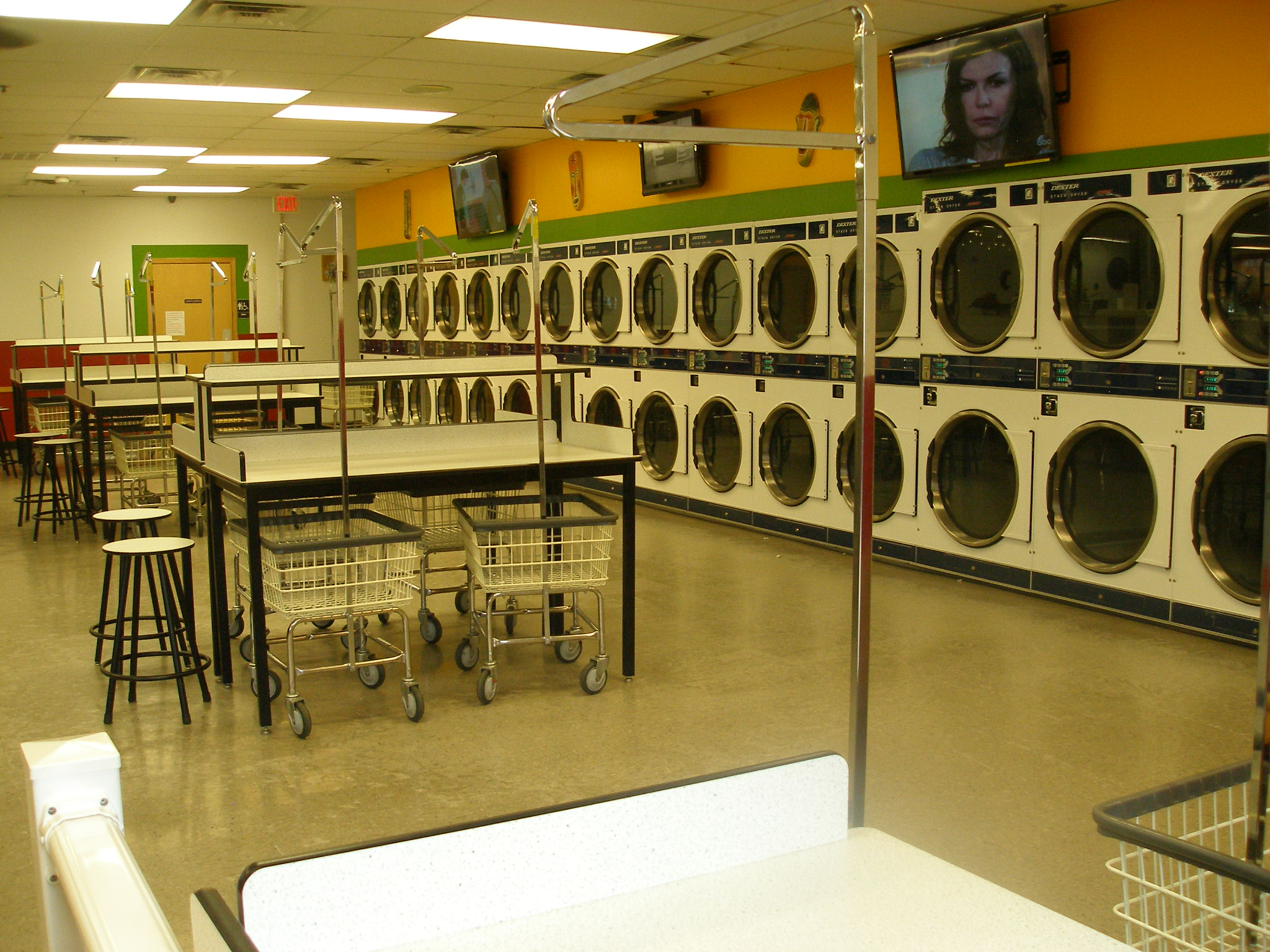 where to get coins for laundry