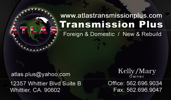 atlas transmission plus