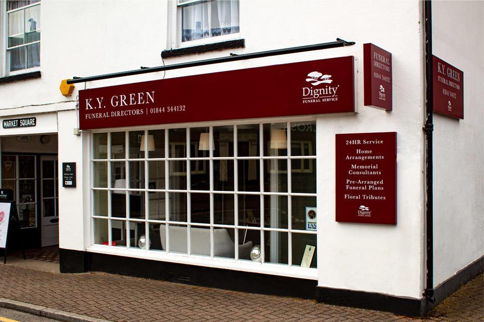 K Y Green Funeral Directors - Closed