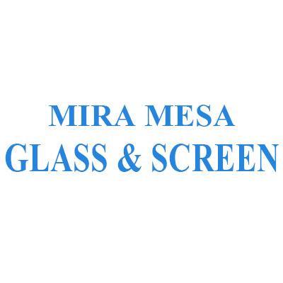 Mira Mesa Glass & Screen