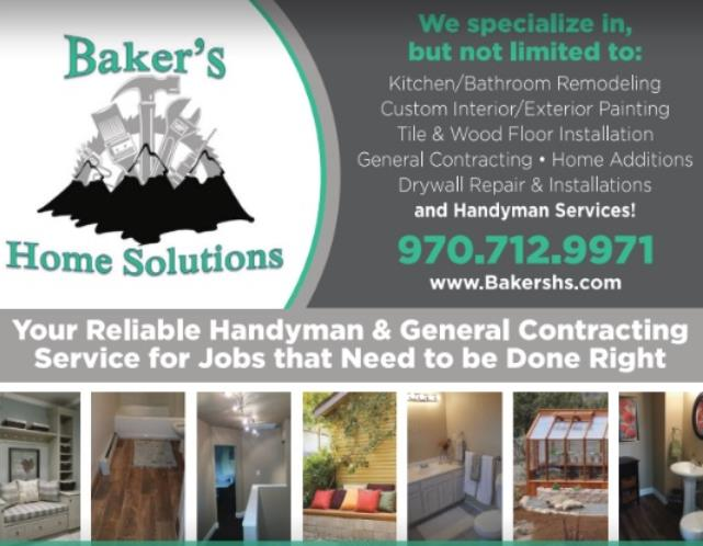 Baker S Home Solutions Grand Junction Colorado Co