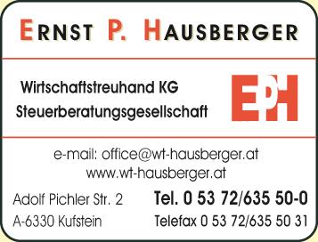 Steuerberatungskanzlei Ernst P. Hausberger Wirtschaftstreuhand KG