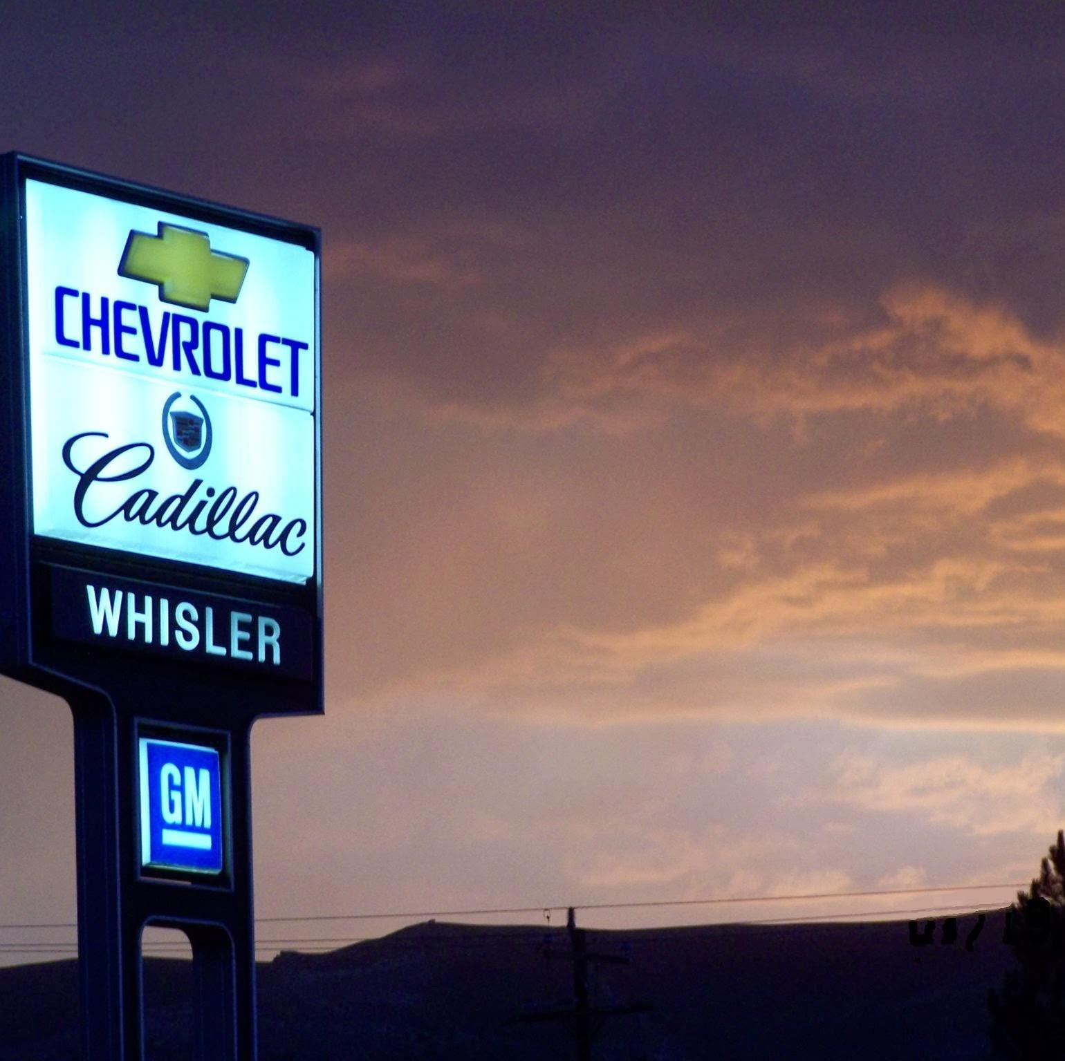 whisler chevrolet cadillac in rock springs wy 82901. Black Bedroom Furniture Sets. Home Design Ideas