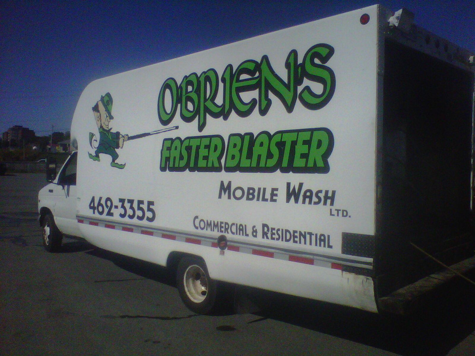 O'Brien's Faster Blaster Mobile Wash Limited