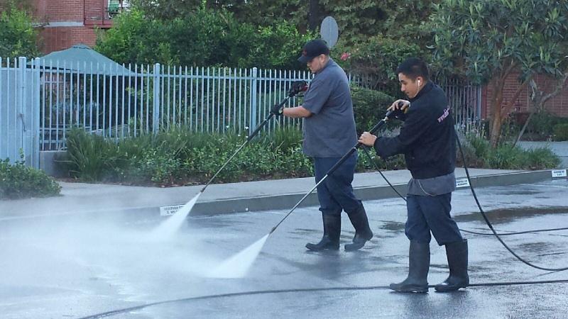 Shine Walk High Pressure Washing Services Pasadena