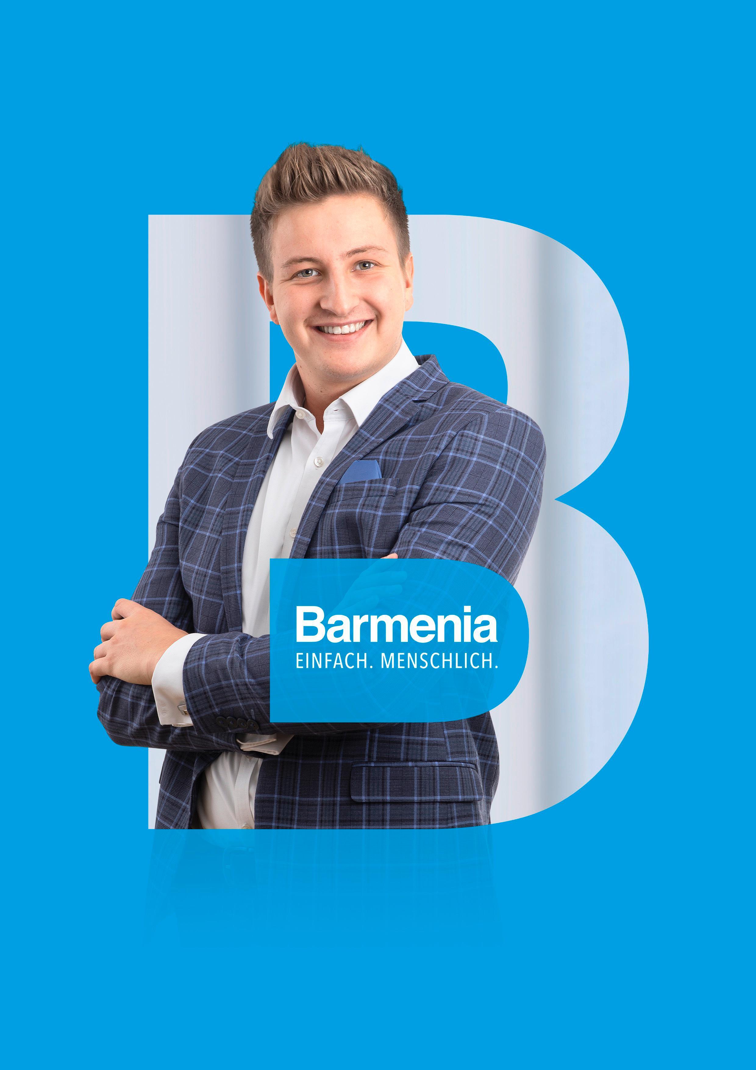 Fabian Geißer. Ihr Ansprechpartner für die Barmenia Versicherung in Bayreuth.