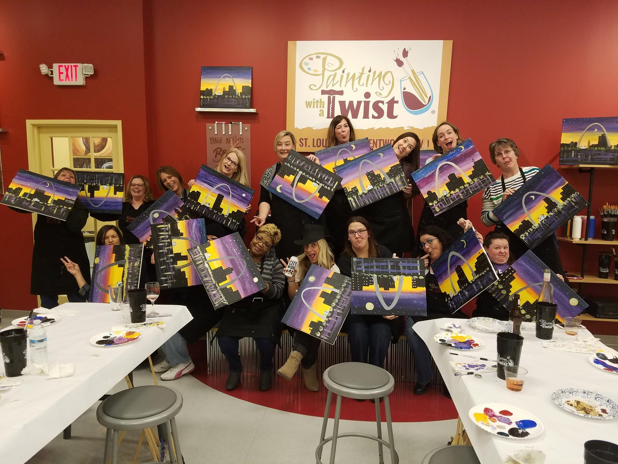 Painting with a twist coupons near me in st louis 8coupons for Painting with a twist chicago