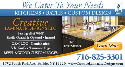 Creative Laminate Designs Llc In Buffalo Ny 14220