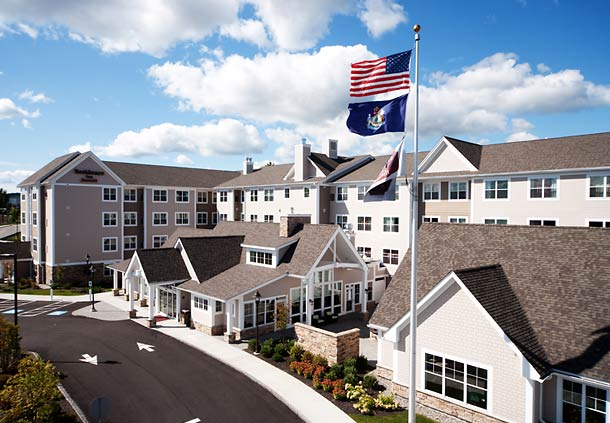 Residence Inn By Marriott Auburn Auburn Maine Me