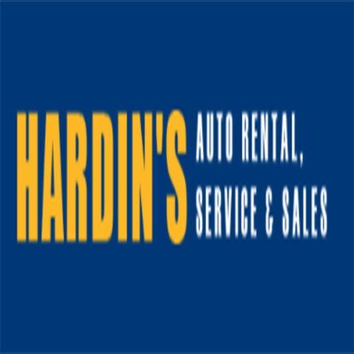 Hardin's Auto Rental, Service & Sales Logo