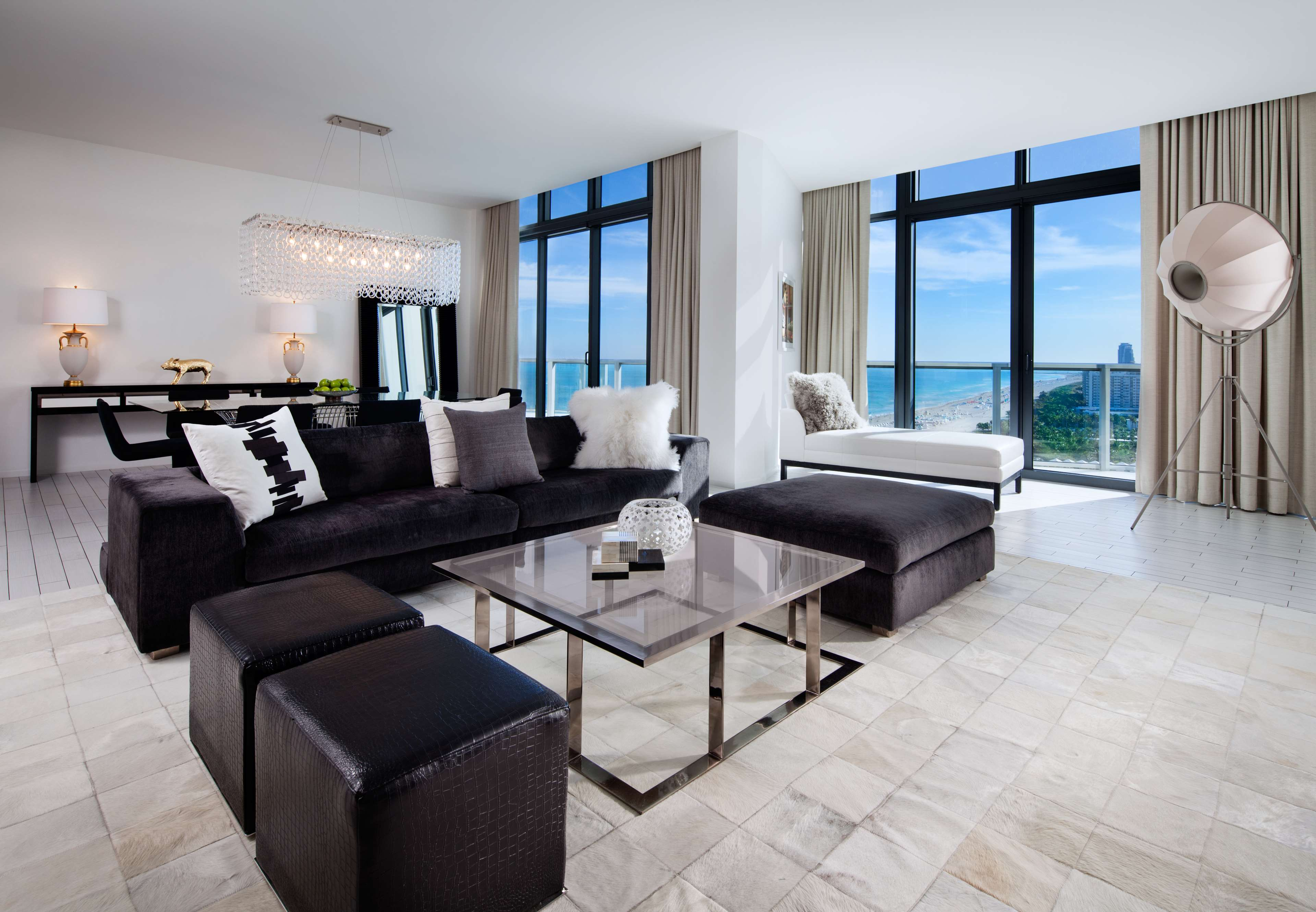 W south beach miami beach florida fl for W living room miami