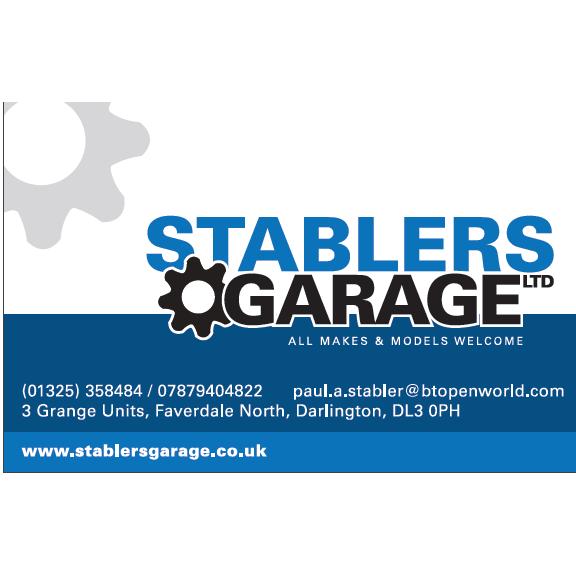 Stabler's Garage Ltd Darlington 01325 358484