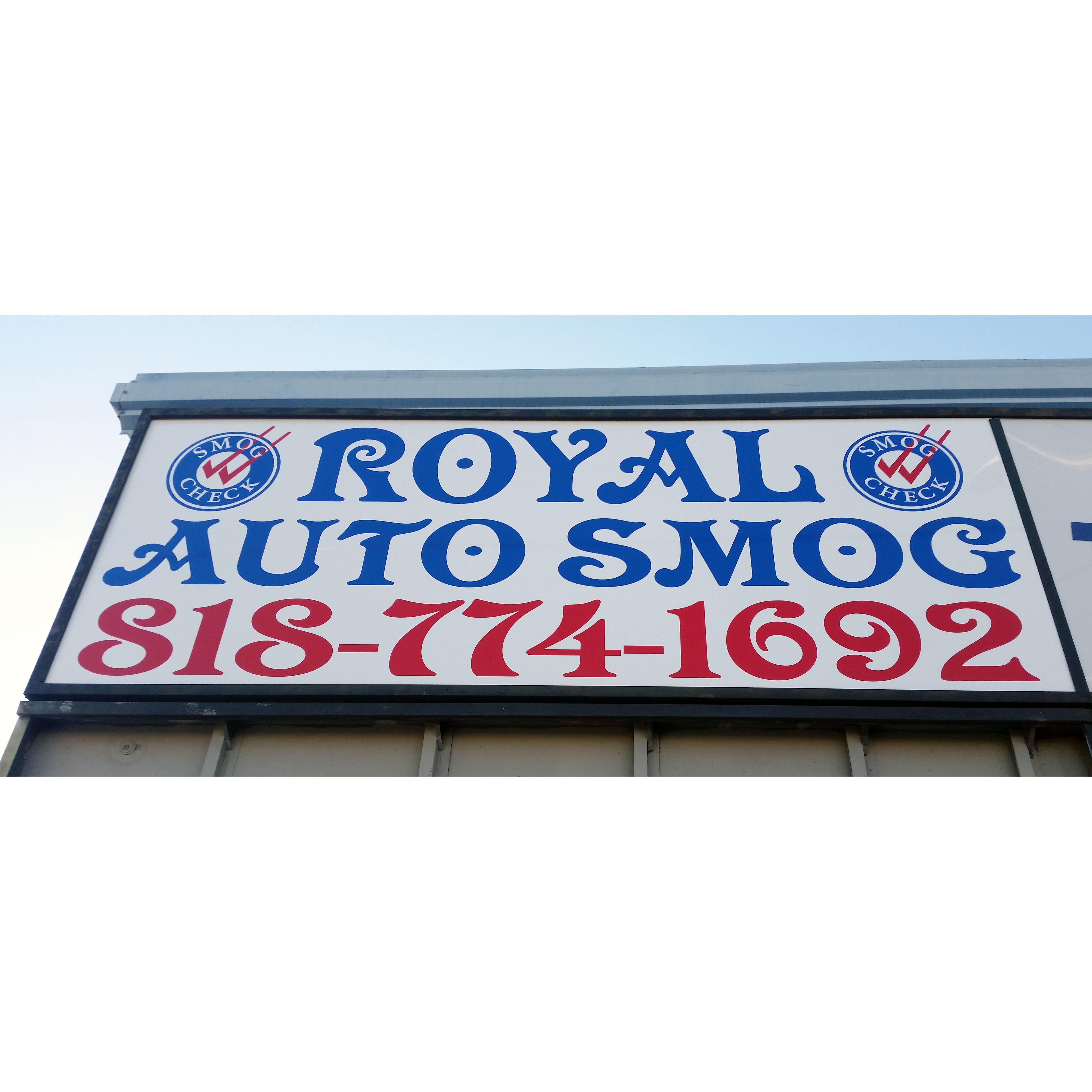 Royal Auto Smog Test Only Reseda