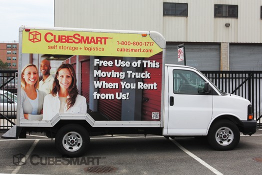 CubeSmart Self Storage - ad image