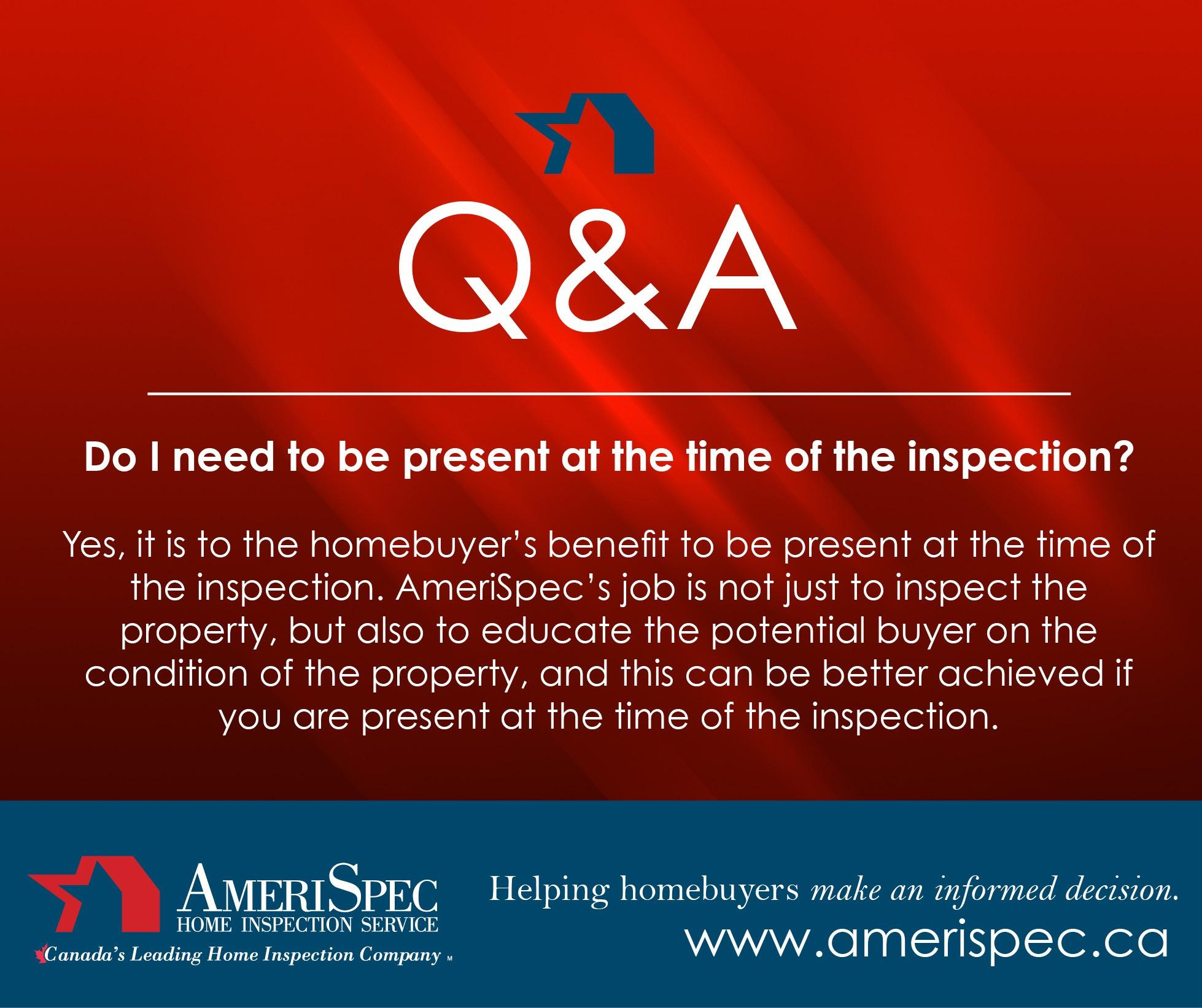 AmeriSpec Inspection Services of Calgary South