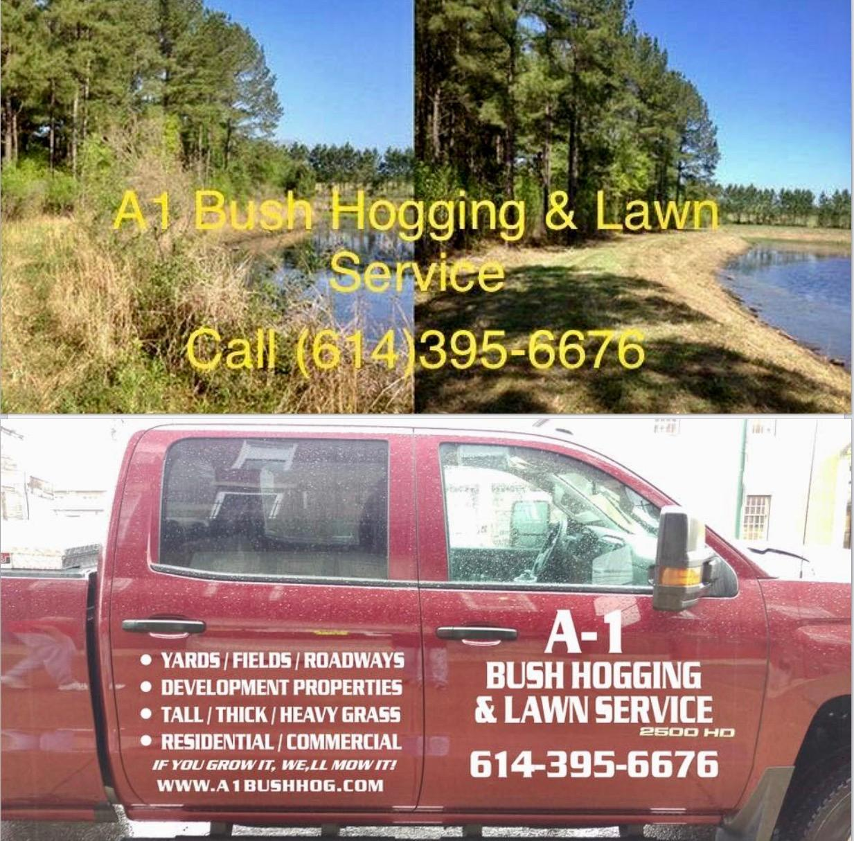 A1 bush hogging lawn service grove city ohio for Local lawn care services