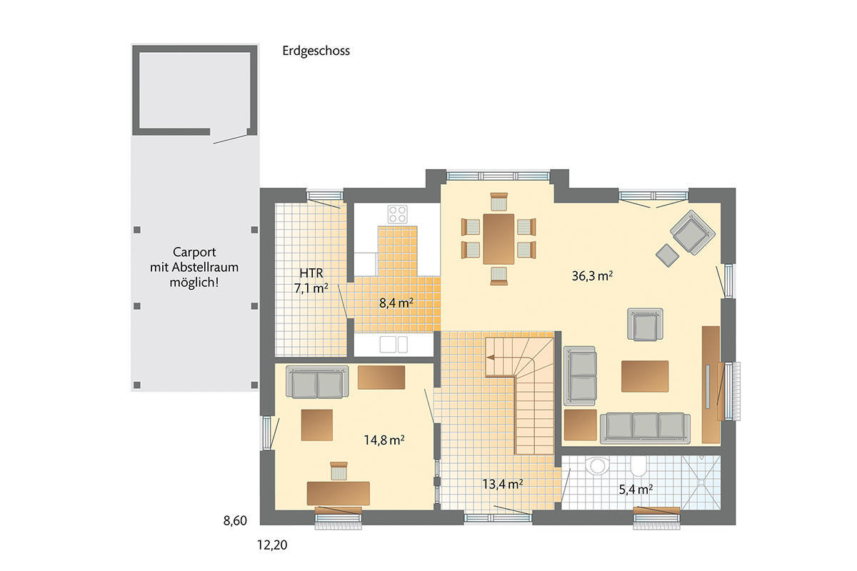 Danhaus - Das 1Liter-Haus! bei Ulm