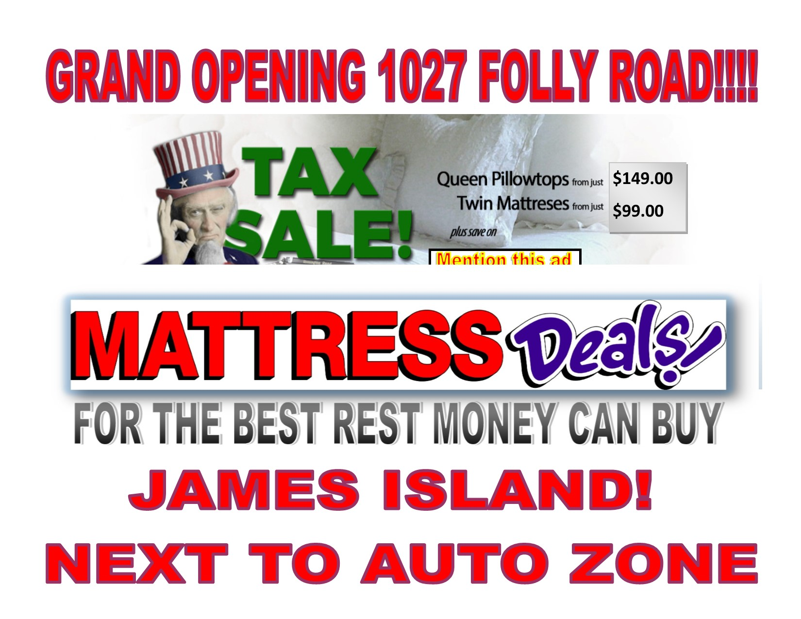 Mattress Deals Coupons Near Me In North Charleston 8coupons