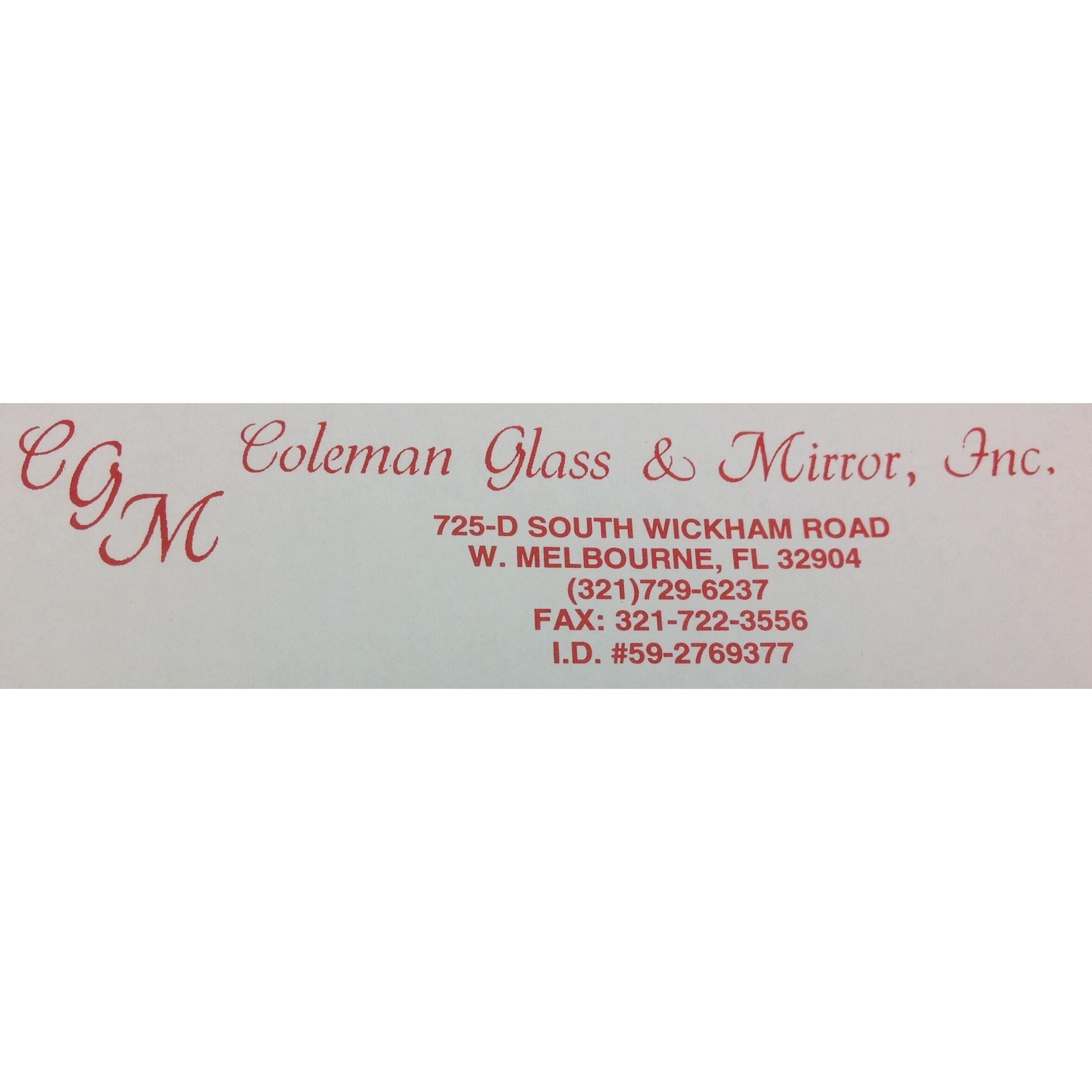 Coleman Glass