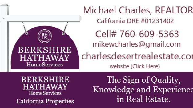 Michael Charles Desert Real Estate, REALTOR®