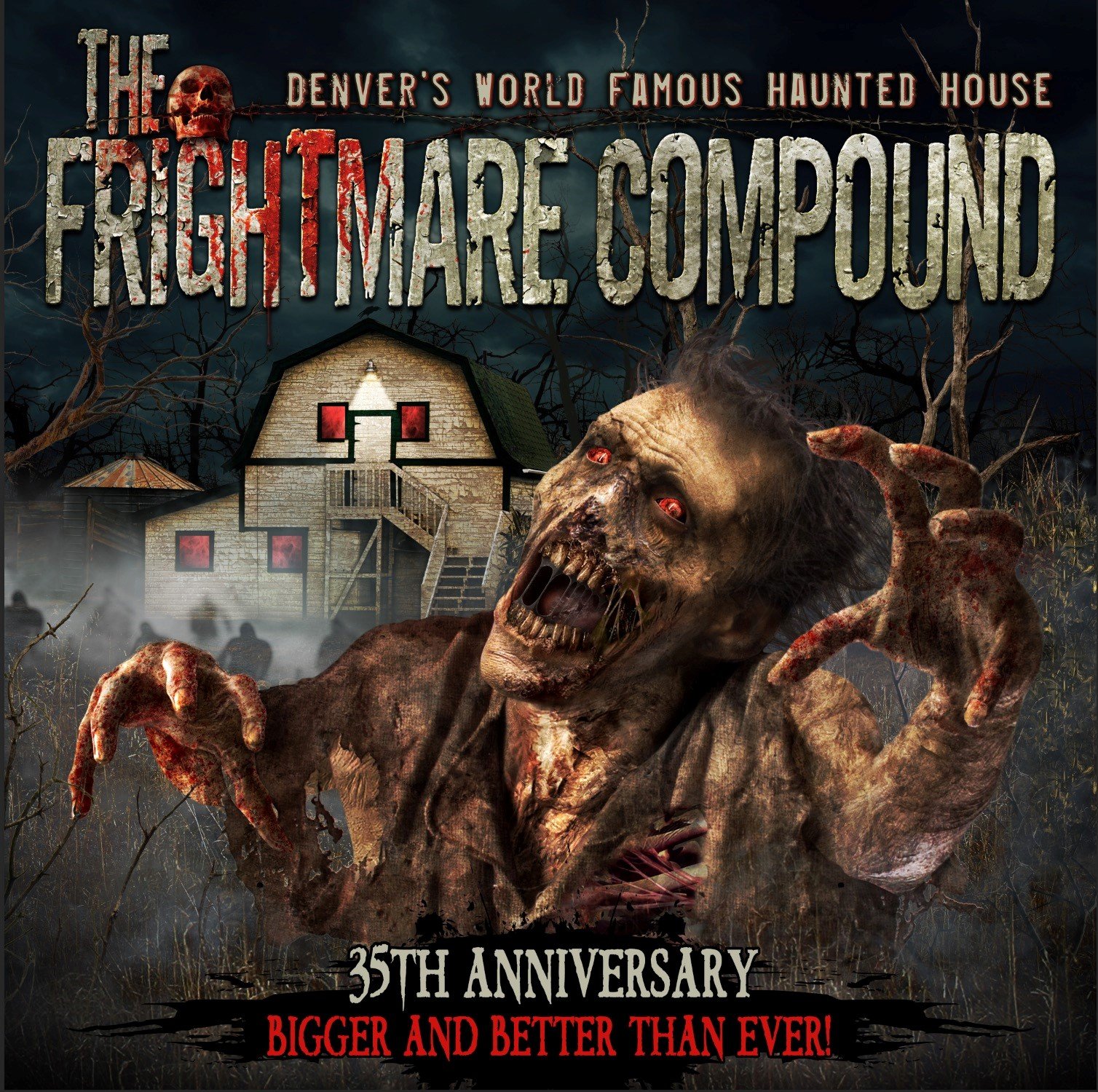 Creepy Abandoned Places In Denver: Frightmare Haunted House Coupons Near Me In Westminster
