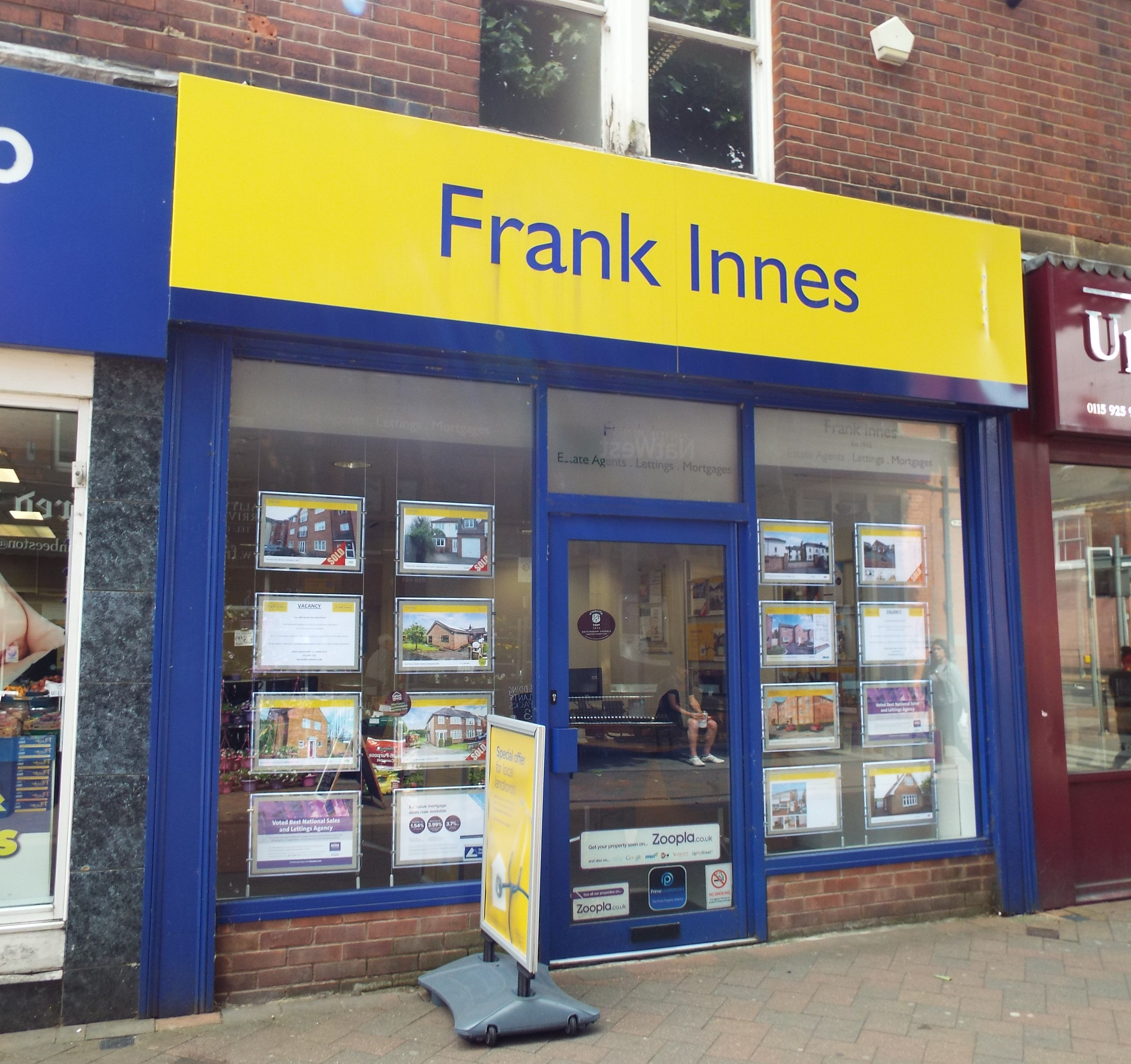 Frank Innes Estate Agents Beeston