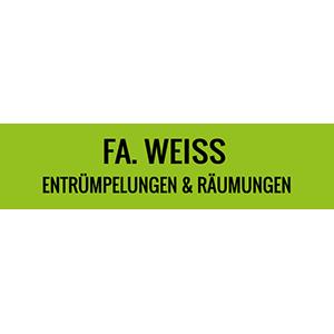 FA. WEISS, ENTRÜMPELUNG UND RÄUMUNGEN