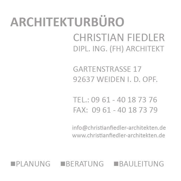 Bild zu Architekturbüro Christian Fiedler in Weiden in der Oberpfalz