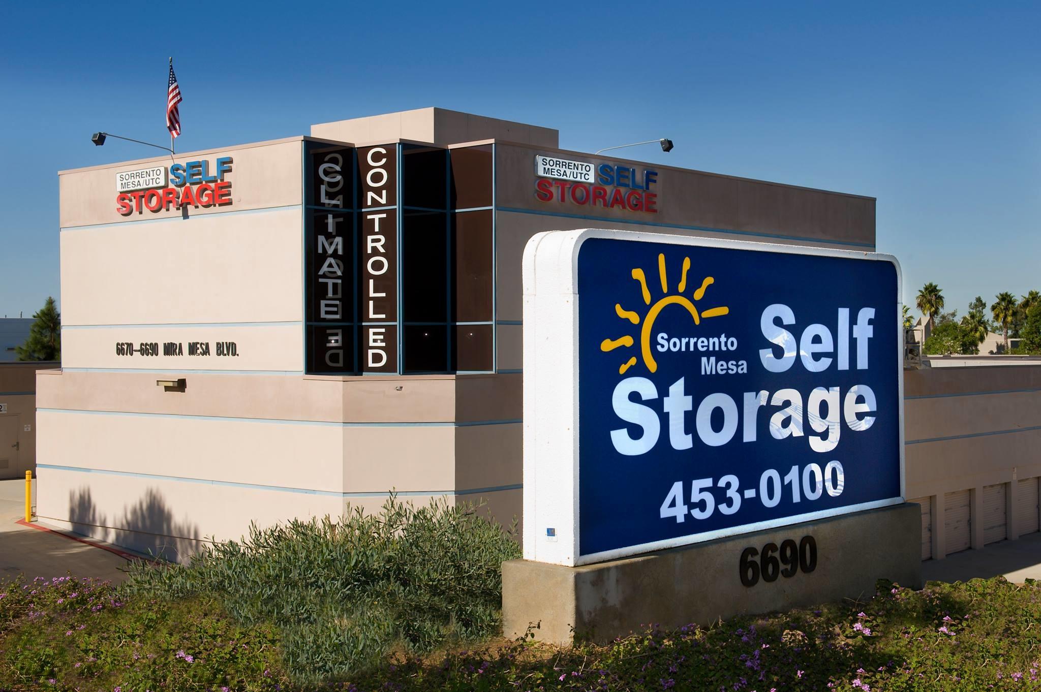 Sorrento Mesa Self Storage San Diego