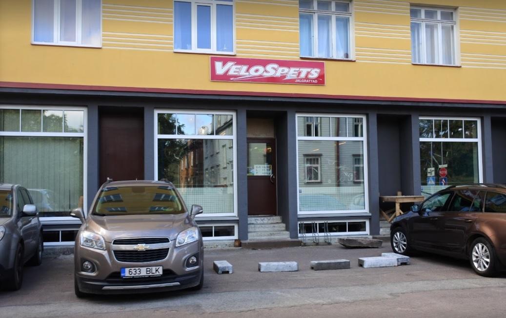 Velospets Tallinna kauplus Velorex OÜ