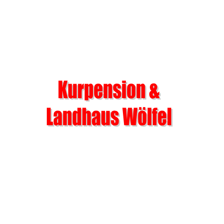 Kurpension & Landhaus Wölfel Logo