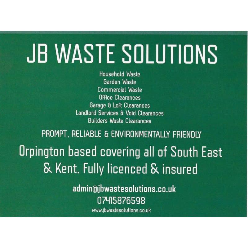 JB Waste Solutions - Orpington, London BR5 2JT - 07415 876598   ShowMeLocal.com