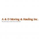 A & D Moving & Light Hauling - Cincinnati, OH - Movers